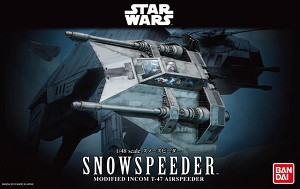 Snowspeeder 1:48 scale kit from Bandai