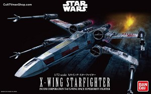 Classic X-Wing  1:72  model kit from Bandai
