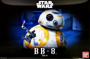 BB-8 large 1:2 scale figure kit from Bandai