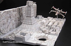 Death Star Attack 1:144 scale diorama from Bandai - $35.95 - PREORDER RESERVATION