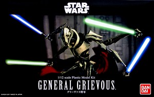 General Grievous - Revenge off the Sith -1:12 figure kit from Bandai