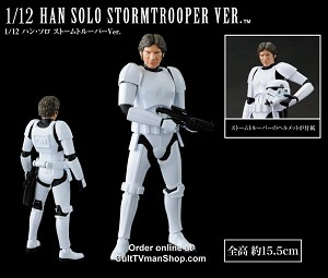 Han Solo Stormtrooper 1:12 scale from Bandai - $29.95 - PREORDER RESERVATION