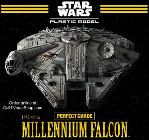 Millennium Falcon 1:72 scale Perfect Grade from Bandai -  $359.95  - PREORDER RESERVATION