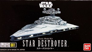 Star Wars Star Destroyer mini-kit 001 from Bandai