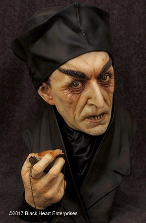Nosferatu - 1:1 scale 360° Series unpainted bust from Black Heart (price includes US shipping)