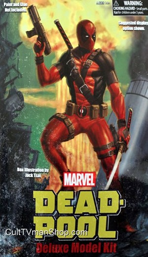 Deadpool model kit from Diamond Select