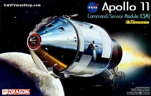 Apollo 11 CSM 1:48 model kit from Dragon Models