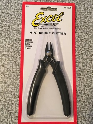 Sprue Cutter with black handle from Excel