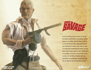 Doc Savage Premium 1:6 action figure from Executive Replicas