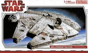 Millennium Falcon 1:144 scale from Fine Molds