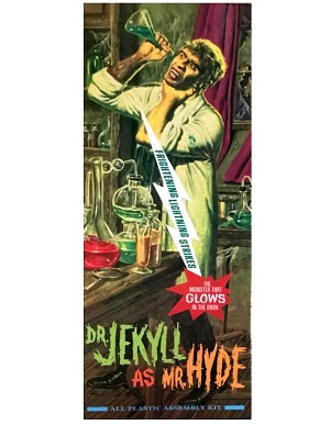 Dr. Jekyll as Mr. Hyde - Frightning Lightning GLOW kit  Chiller Exclusive 2007 from Moebius Models