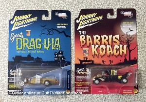 The Munsters - The Barris Koach and Dragula from Johnny Lightning