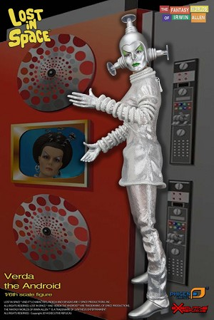 Lost in Space Verda, the Android - 1:6 scale Premium Action Figure from Executive Replicas