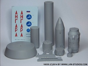 "Angara-1.2pp Rocket ""First Flight"" 1:144 from LVM Studios"