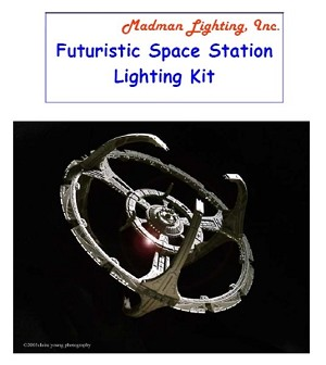 Space Station Light Kit from Madman Lighting