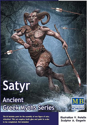 Greek Myths - The Satyr 1:24 scale from Master Box