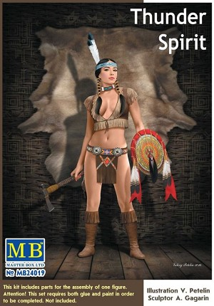 Thunder Spirit Pin-Up Series  1:24 scale from Master Box