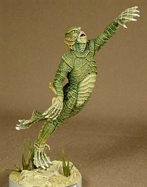 The Gillman - MicroMania figure from Black Heart