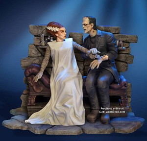 The Bride and the Monster STATUE from Moebius $299.95 PREORDER RESERVATION
