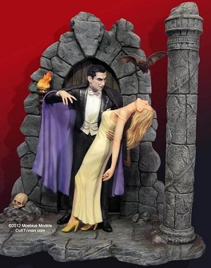 Deluxe Bela Lugosi Dracula and his Victim from Moebius