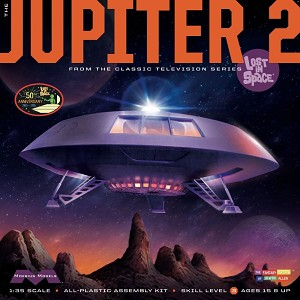 "Jupiter 2 - 18"" kit 50th Anniversary  2nd edition from Moebius Models"