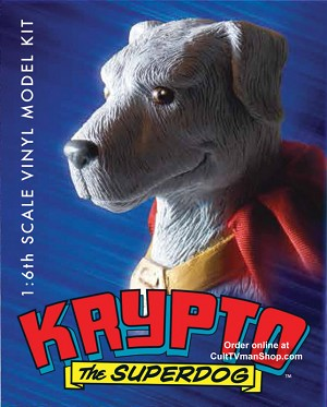 Krypto the Superdog - 1:6 vinyl model from Moebius Models