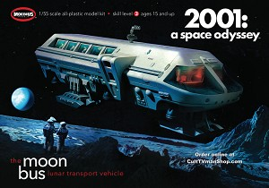 2001 Moonbus  reissue from Moebius Models - $29.95 - PREORDER RESERVATION