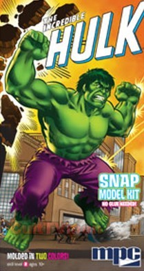 Incredible Hulk Snap kit from MPC/Round 2