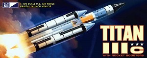 Titan Rocket 1:100 scale reissue from MPC/Round 2