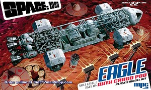 "Eagle with Cargo Pod - 22"" kit - Space: 1999 from MPC/Round 2"