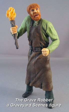 The Grave Robber - a Graveyard Scenes figure