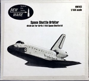 Space Shuttle (Airfix) detail set 1/144 from New Ware