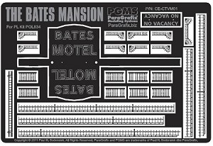 Bates Mansion detail set from Paragrafix