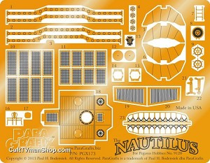 Nautilus Detail Set 1:144 scale from Paragrafix