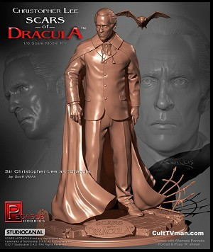Scars of Dracula - Christopher Lee - 1:6 scale resin kit from Pegasus