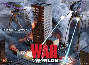 Tripods Attack! War of the Worlds 2005 diorama 1:350 from Pegasus Hobbies
