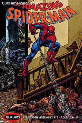 Spiderman Comic Scenes reissue from Polar Lights
