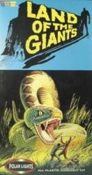 Land of the Giants Snake diorama from Polar Lights