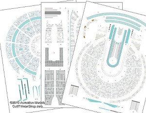 Starship B Aztec decals 1:1000 from Acreation