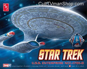Enterprise-D 1:2500 scale Cadet Series from AMT/Round 2
