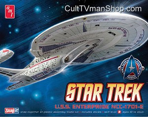 Enterprise-E 1:2500 scale Cadet Series from AMT/Round 2