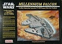 Millennium Falcon 1:72 scale from Fine Molds
