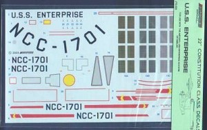 "22"" Constitution Class decals from JTGraphics"