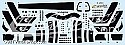 Space Fighter Mk II black stripes decals from JTGraphics
