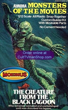 Monsters of the Movies Creature from Moebius