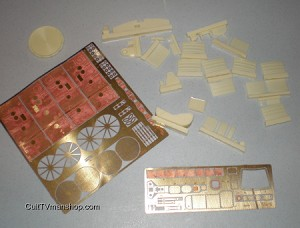 Apollo CM detail set 1:32 scale from New Ware