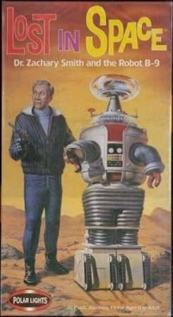 Dr. Smith & the Robot from Polar Lights