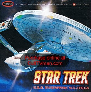 Refit Enterprise 1:350 reissue from Polar Lights/Round 2
