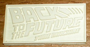 Back to the Future nameplate from Thunderboy