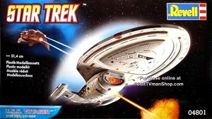 USS Voyager reissue from Revell Germany
